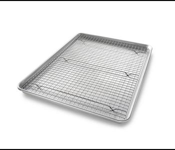 """USA XL Sheet Pan - 20.25""""x14.25""""x1""""/with Cooling Rack"""