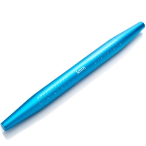 "Rolling Pin KMN Aluminum- BLUE - 21"" x 1.75"""