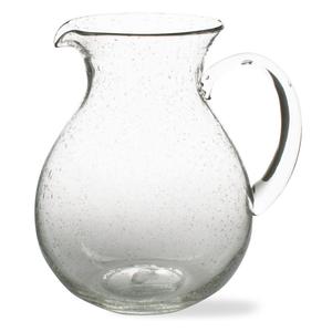 Design Home PITCHER BUBBLE GLASS 64 OZ.
