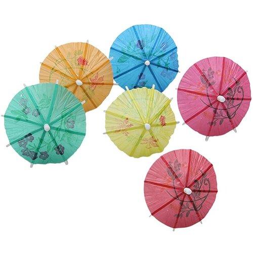 Nicetys Import Mini Paper Cocktail Umbrellas/ Pack of 144