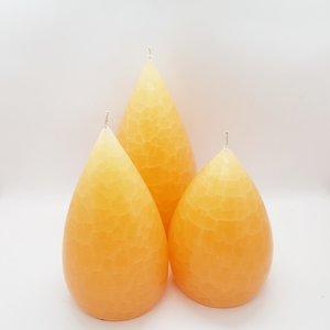 Barrick Design Candle Stout Crackle Peach