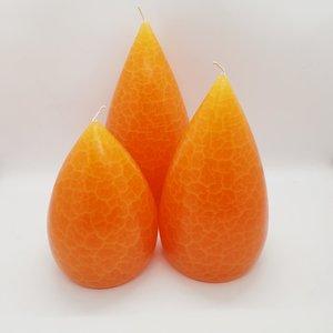 Barrick Design Candle Stout Crackle Pumpkin
