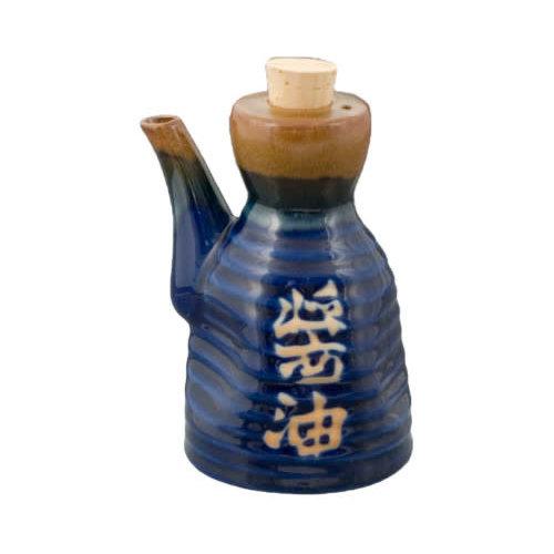 Nicetys Import SAUCE DISPENSER Japanese - BLUE - 207ml