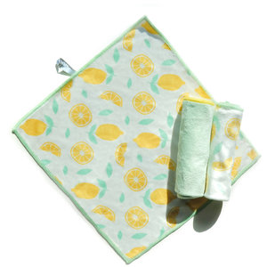 Full Circle Microfibre All-Purpose Cleaning Cloth Citrus/Set of 3