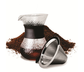 Coffee Pour Over Carafe 400ml CAFE CULTURE