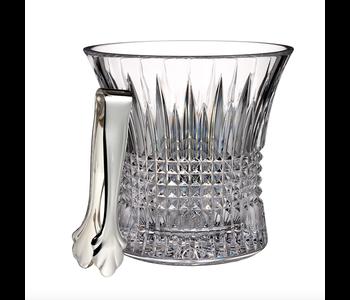 LISMORE DIAMOND Ice Bucket & Tongs