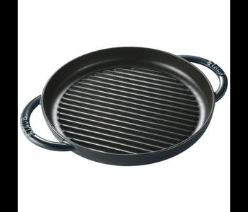 "STAUB Round  Pure Grill pan 26cm/10"" LA MER"