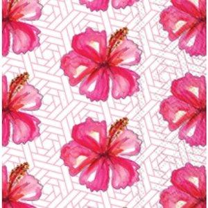 Carsim Napkin/Guest Towel Paper HIBISCUS