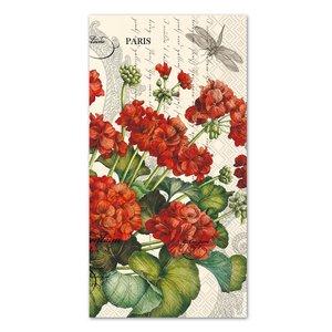 Carsim Napkin/Guest Towel Paper GERANIUM CREAM