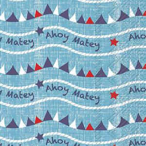 Carsim Napkin/Guest Towel Paper AHOY MATEY