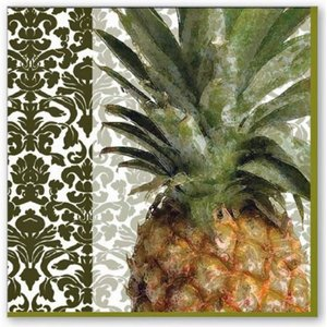OCD Napkin Cocktail Paper Exotic Pineapple