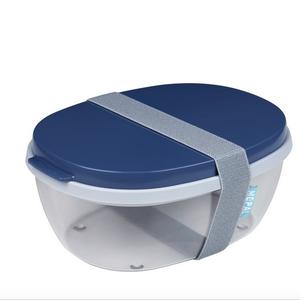 MEPAL MEPAL Ellipse Duo-Salad Box NORDIC DENIM