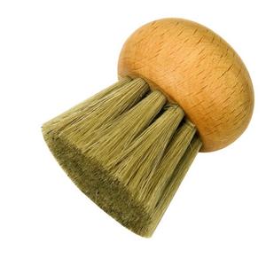 Redecker Mushroom Brush Long Bristles NO handle REDECKER 4.5cm