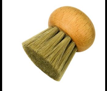 Mushroom Brush Long Bristles NO handle REDECKER 4.5cm