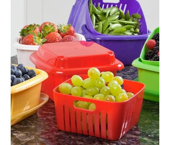 3 IN 1 BERRY STORAGE BOX/ MIXED COLORS