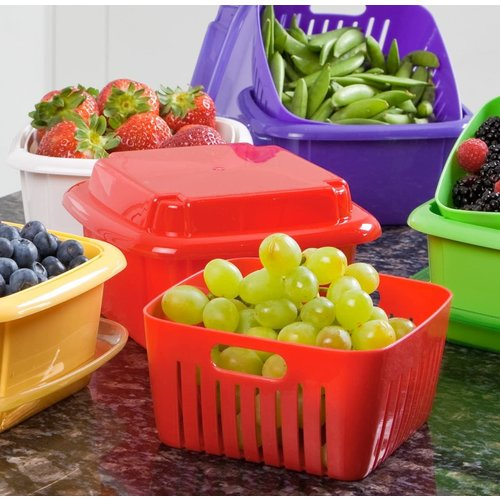 Hutzler 3 IN 1 BERRY STORAGE BOX/ MIXED COLORS