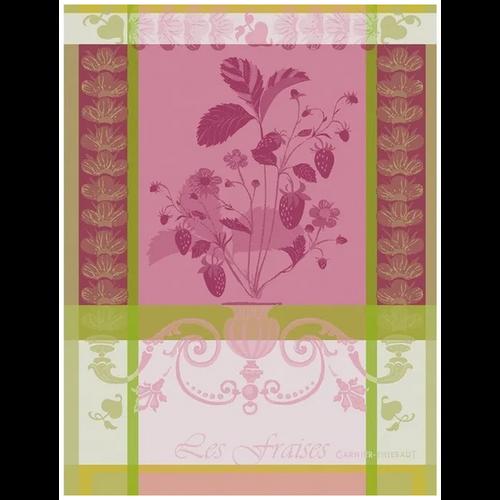 Garnier Thiebaut Garnier Thiebaut Tea Towel Fraisier Rose