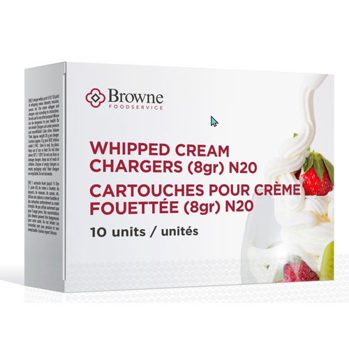 Browne Whip Cream Charger/ Set of 10