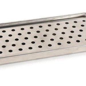 RSVP By The Sink Tray Stainless Steel