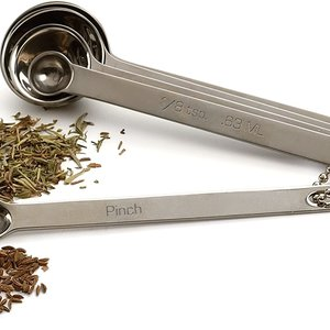 RSVP RSVP Stainless Steel Measuring Spoons set/5 - ODD-SIZE