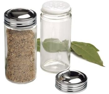 SPICE JAR with Chromed Steel Lid