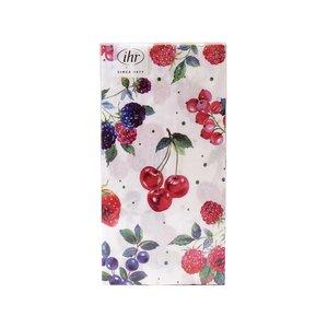 IHR Napkin/Guest Towel Paper RED SUMMER FRUITS