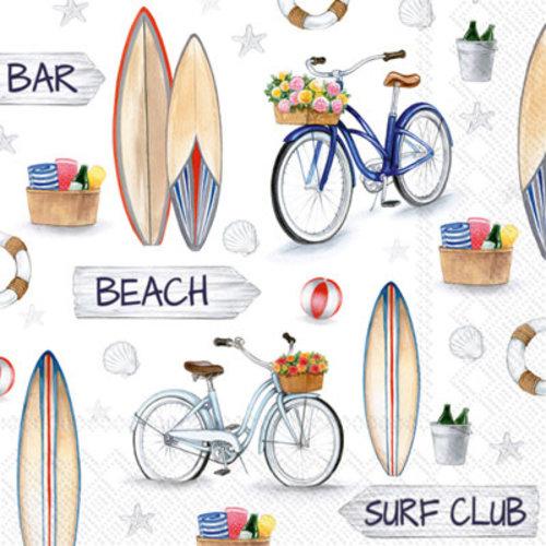 IHR Napkin Cocktail Paper SURF CLUB
