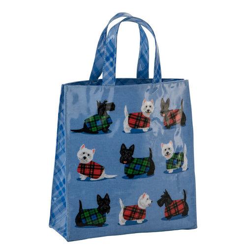 Samuel Lamont Cosy Scottie & Westie PVC Mini Gusset Bag
