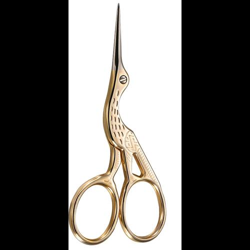 """Kissing Cranes Stork scissor sewing 6"""" KISSING CRANES 1834"""