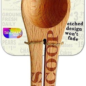 TALISMAN DESIGNS COFFEE SCOOP & CLIP - PHRASES