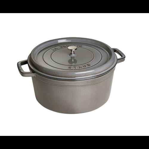 Henckel Dutch oven round 8.8 qt STAUB Grey