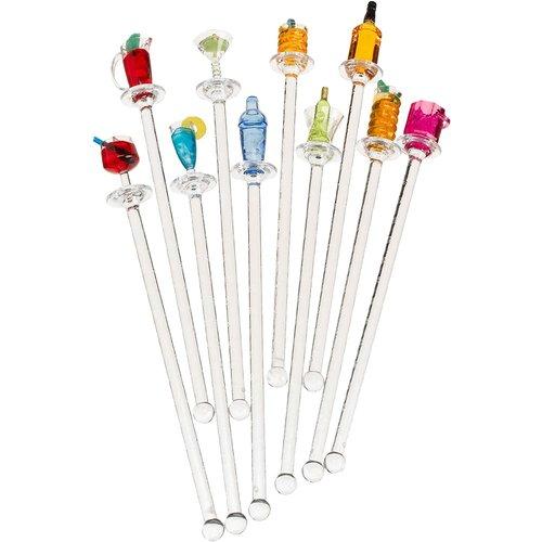 Prodyne Swizzle Sticks Happy Hour/ Pack of 10