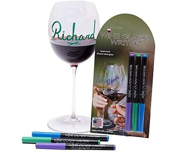 WINE GLASS DECORATOR PENS -  - 3 PENS - MADE IN THE USA