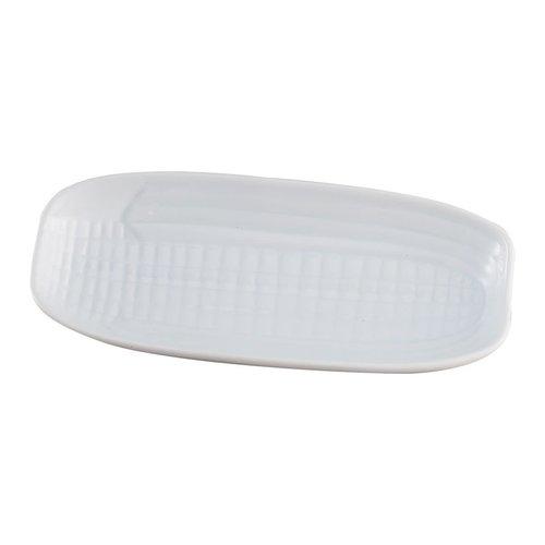 Harold Import Company Corn Dish White Porcelain