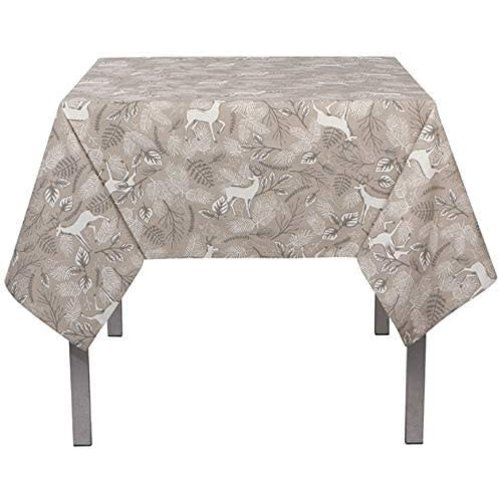 """Now Designs TABLECLOTH NOBLE DEER PRINT   60"""" X 120"""""""