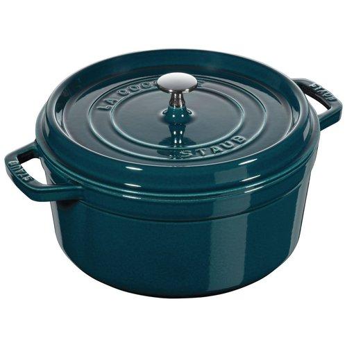 Henckel Dutch oven round 5.5 qt STAUB LA MER Blue