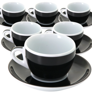 Ancap MILLECOLORI Cappuccino cup Torino Black