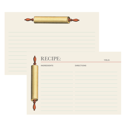 Design Home Recipe Card ROLLING PIN