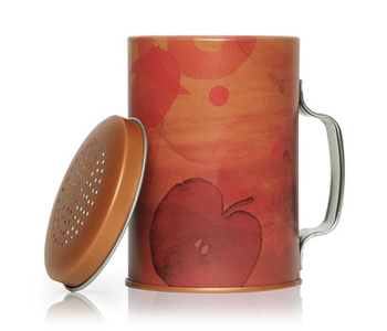 Simmered Cider Candle in Tin Shaker - THYMES