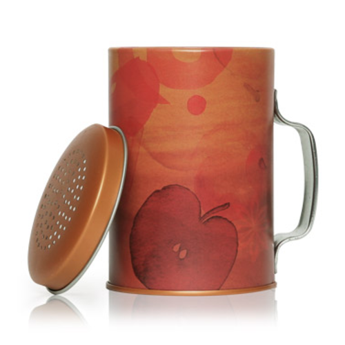 Design Home Simmered Cider Candle in Tin Shaker - THYMES