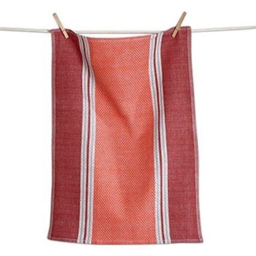 Design Home TEA TOWEL TUSCANY RED ORANGE