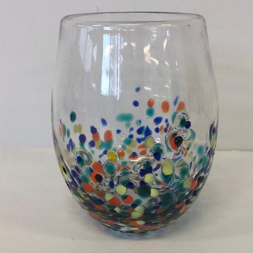 Design Home PEBBLE STEMLESS WINE GLASS