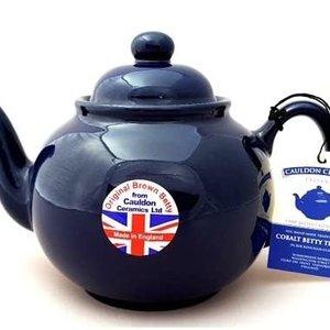 Cauldon Ceramics Teapot BLUE BETTY 6 cup