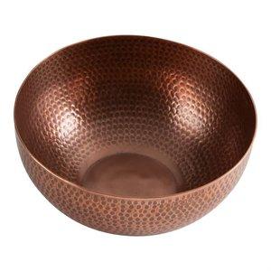 Design Home Bowl HAMMERED COPPER