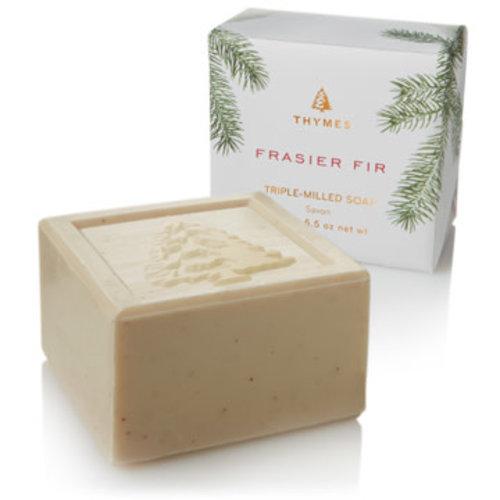 Thymes Frasier Fir Bar Soap - THYMES