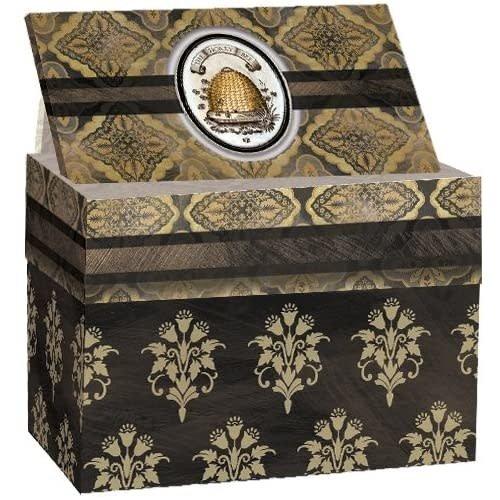 Lang Recipe box HONEY AND GREY