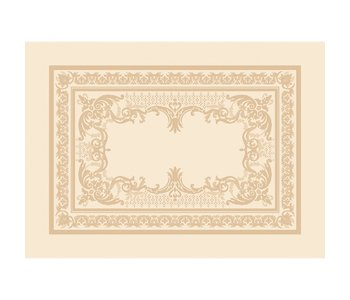 """PLACEMAT ELEONORE DORE GREEN SWEET 21"""" X 15"""""""