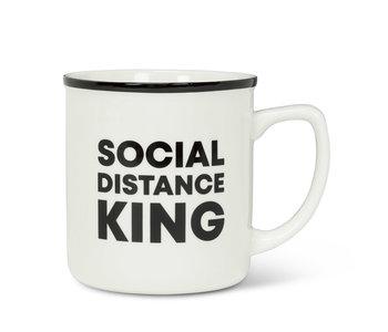 Mug SOCIAL DISTANCE KING  14oz
