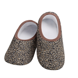Snoozies Snoozies Slippers Leopard Small