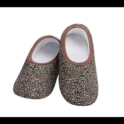 Snoozies Snoozies Slippers Leopard Medium